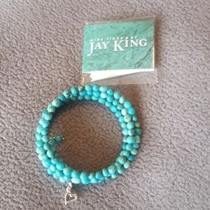 Authentic jay king turquoise bracelet